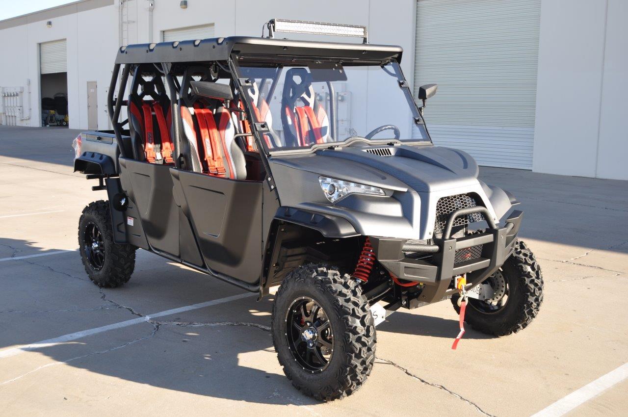 2018 ODES DOMINATOR X4 1000CC ZEUS TOUCH 4DR LONG TRAVEL